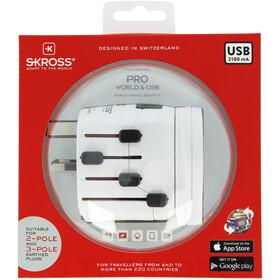 SKROSS World Pro + USB Adaptateur de voyage